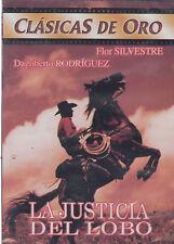 DVD - La Justicia Del Lobo NEW Clasicas De Oro Flor Silvestre FAST SHIPPING !