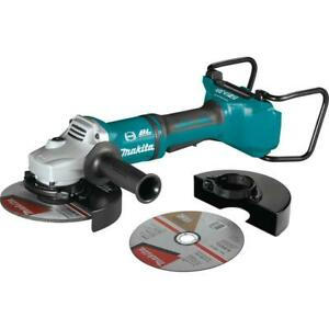 """Makita Cordless Angle Grinder 7"""" Paddle Switch 18 Volt LXT Lithium-Ion Tool Only"""