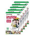 5 Packs Fujifilm instax Mini Film,50 Fuji instant photos 7s 8 90 Polaroid 300