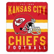 Football Team Kansas City Chiefs Fleece Throw Blanket New Design 50'' x 60''