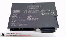 SIEMENS 6ES7 135-4MB02-0AB0 , SIMATIC S7 ELECTRONIC MODULE 2 AO,  HF I,  #215082