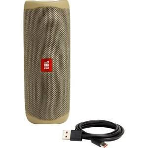JBL Flip 5 Portable Waterproof Bluetooth Speaker (Desert Sand) Limited supply