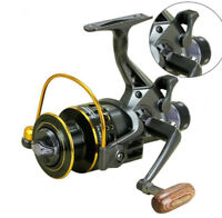 Double Brake Fishing Reel Super Strong Carp Fishing Feeder Spinning Reel Wheel t