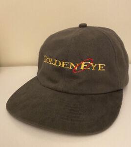 Goldeneye 007 Nintendo 64 N64 Promo Baseball Cap Hat RARE