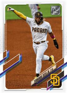 2021 Topps MLB Digital NFT Series 1 Fernando Tatis Jr Minted 2027/2657 COMMON