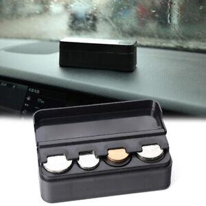 Portable Car Coin Case Organizer Storage Mini Box Plastic Holder Car Accessories