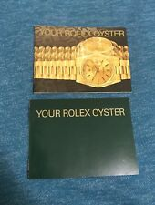 ♛Your Rolex Oyster Booklet Owners Manual English & USA 1989-2005 - Choose Date -