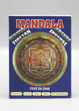 Mandala Tibetan Incense Pack-Set of 5 Fragrant Incense Sticks