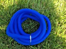 """Split Loom 3/8"""" I.D. x  8' Blue Wire Hose Video Cord Cable Chain Cover Tubing"""