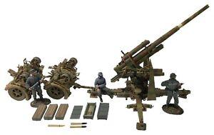 William Britains WWII German 88mm Flak 36 Gun Item 25059
