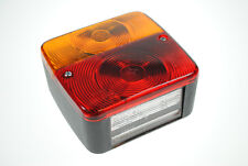 Pair of Square Radex 4 function rear lamps/lights for Caravans/Trailers etc