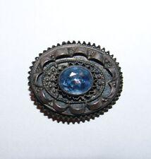 Jewish Judaica Israel pin brooch st. silver pendant