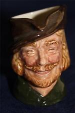 Royal Doulton Character Toby Jug, Robin Hood 1st Version, Miniature D6252