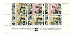 FUMETTI - COMICS NETHERLANDS 1984 block
