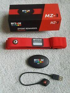 MYZONE MZ-3 Heart Rate Monitor Fitness/Training/Activity Tracker Exercise Belt