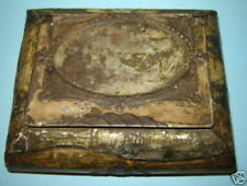 Antique 19c 1860 OLD IMPERIAL RUSSIAN Candy Biscuit TIN BOX