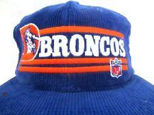 NFL USA Football Cap Broncos licensierte Cordcap Kappe bestickt  blau one size