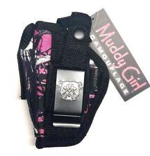 Ruger SR22 | Muddy Girl Nylon hand Gun Holster Pink Purple Camo