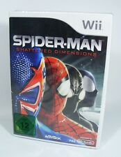 Spider-Man Shattered Dimensions para Nintendo Wii nuevo UE-versión juego Spiderman