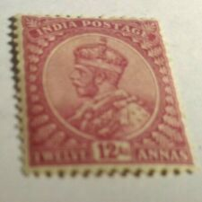 India Scott's #s 92. MH. King George V. sal's stamp store