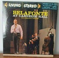Belafonte at Carnegie Hall 1959 RCA Vinyl Record Gatefold Double LP VG+/VG+ TAS