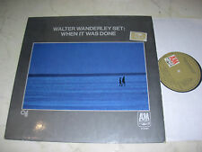 Walter wanderley set when it was done CTI a & mrec. 1968