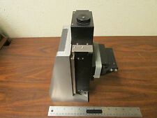 Opto Micron FX-610 Precision Mechanical Stage On Stainless Steel Base