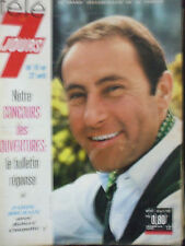 tele 7 jours N 317 robert chapatte 16 avril 1966