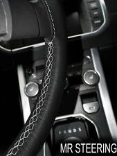 Para Toyota Tacoma MK2 05-11 Cubierta del Volante Cuero Gris Claro STCH doble