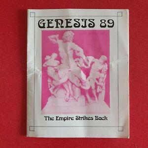 GENESIS Empire Strikes Back 9th September 1989 Rave Flyer