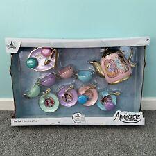 Disney Animators 19 Piece Tea Set/Teatime Toy Playset-Princess-Xmas-Gift-NEW