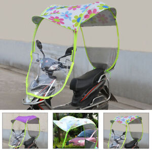 Universal Safe Motor Shade Umbrella Mobility Scooter Rain Cover Waterproof UK