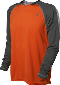 Fox Racing Indicator Long Sleeve L/S Jersey Orange