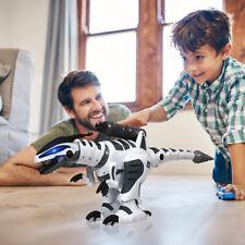 RC Robot Dinosaur Intelligent Interactive Remote Control Kids Roars & Fight Mode
