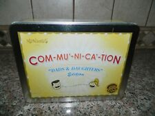 COM-MU'-NI'CA'-TION DADS & DAUGHTERS Edition Mindamics Ages 10+ Stimulates Fun C
