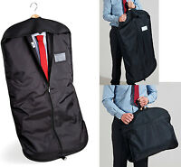 Suit Cover Carrier Garment Bag Holder Protect Store Suit for Travel Transport