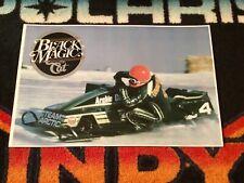 80 ARCTIC CAT #4 Sno-Pro Snowmobile Poster   vintage race sled snopro