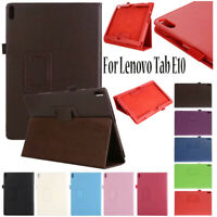 For Lenovo TAB E10 TB-X104F 10.1 Inch 2018 Tablet Folio Leather Case Cover Stand
