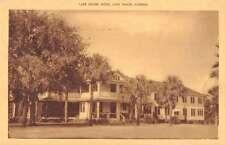 Lake Wales Florida birds eye view outside Lake Shore Hotel antique pc Z20777