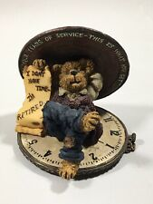 """Boyd's Bears & Friends The Bearstone Collection """"For All Your Years Of Service�"""