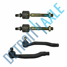 All (4) New Front Inner & Outer Tie Rod Ends for Honda Accord Odyssey Acura CL