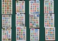 Stamp Collection From United Kingdom GB, Free Shipping