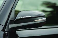 2 - Performance Rear Mirror Decal Racing DODGE FORD Car Door Handle Sticker F2
