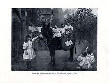 Nestlé's Kindermehl * Aufbruch zum Kaiser-Huldigungsfest * Offerte von 1908