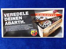 ABARTH TUNING & Accessori per Fiat 500 500c PUNTO EVO-prospetto brochure 05.2012