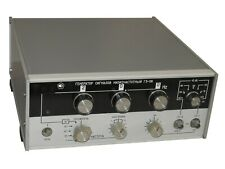 10Hz-200kHz 0dB-60dB G3-118 Low Frequency Signal Generator an-g Noisecom GenRad
