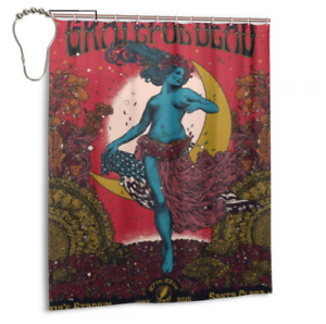 New Arrival Custom Grateful Dead Bathroom Waterproof Shower Curtain 60 x 72 Inch
