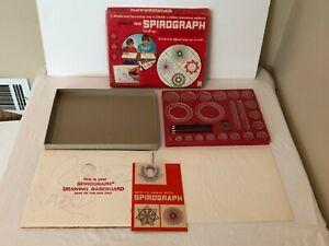 Spirograph 1967 Vintage Original Kenner Complete All Wheels Instructions Paper