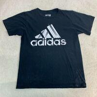 Adidas Short Sleeve T-Shirt Men's Size Medium Black