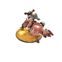 CHAOS SPACE MARINES chaos lord on juggernaut #1 PAINTED Warhammer 40K